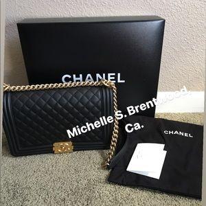 Brand new kept unused Chanel Le Boy